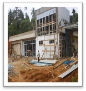 Pembangunan Puskesmas Kecamatan Pulau Tiga Barat