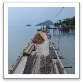 Pembangunan pelantar rakyat Sepasir Desa Selading