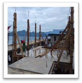 Pembangunan Gedung Paud Desa Tg. Kumbik Utara