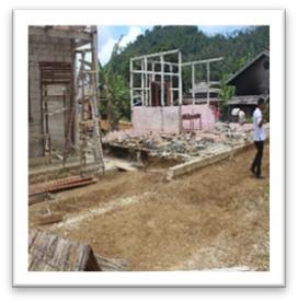Pembangunan Pembagunan Ruang Kelas SDN 003 Setumuk